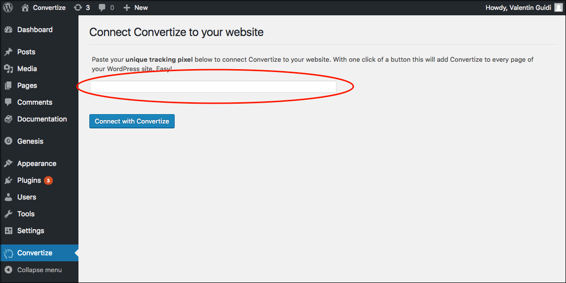 install_tracking_wordpress_convertize